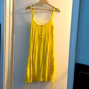 Yellow sundress